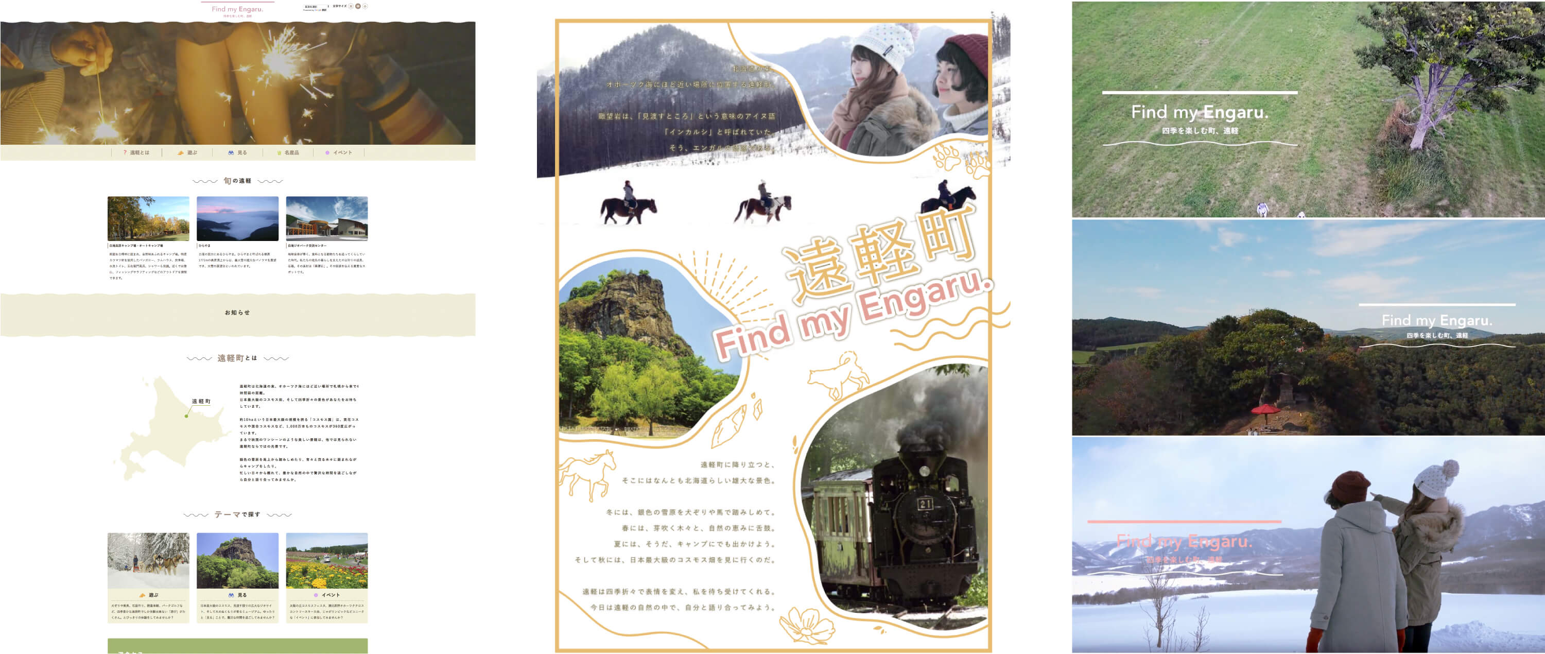 FIND MY ENGARU制作物